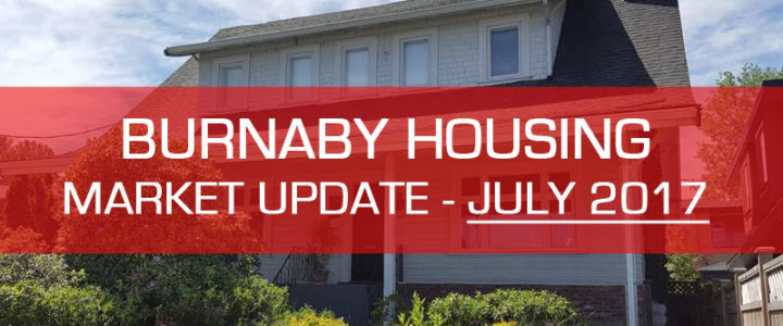 Burnaby BC Detached Housing Market Update for July 2017