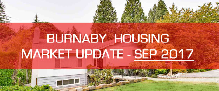 Burnaby BC Detached Houses Market Update – September 2017
