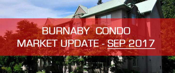 Burnaby Real Estate Condo Market Update – September 2017 (1 bedroom)