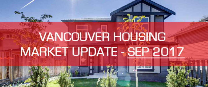 Vancouver Detached Housing Market Real Estate Update – September 2017